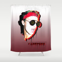 #ARTPUNK BANDANA Shower Curtain