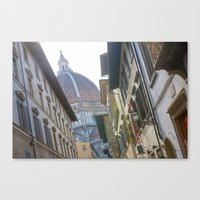 florence Canvas Prints featuring FLORENCE by Halina  Jasińska photography