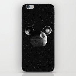 That's no moon... Disney Death Star iPhone Skin
