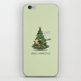 Spruce Springsteen iPhone Skin