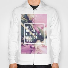 All of Me Loves All of You Hoody