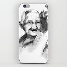Will & Strength (Ghandi) by carographic iPhone & iPod Skin