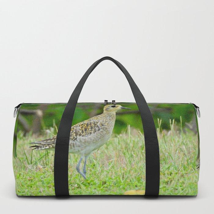 Pacific Golden Plover Duffle Bag