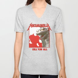 MechaZilla Unisex V-Neck