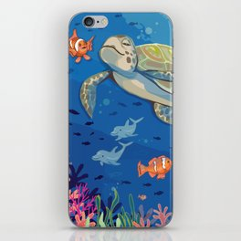 Under the Sea and Above the Coral iPhone Skin