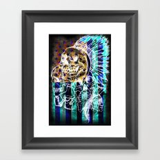 American Savage Framed Art Print