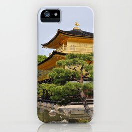 Temple of the Golden Pavillion iPhone Case