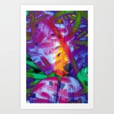 Hooks Art Print