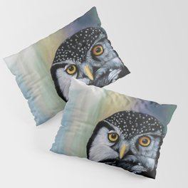 Day Lover Owl Pillow Sham