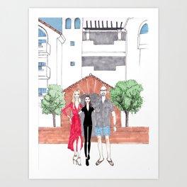 For Shelton Art Print