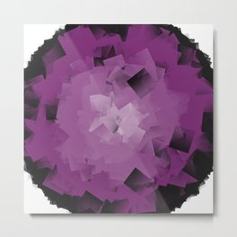 purple tissue Metal Print
