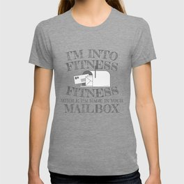 Mailman Gift Into Fitness Whole Package In Your Mailbox Gift T-shirt