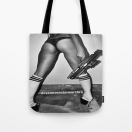 B is for Blaster (Not Booty) Tote Bag