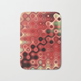 A new modern and abstract design with awesome color harmony Bath Mat