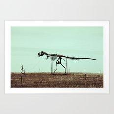 Long Walk #1 Art Print