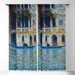 "Claude Monet ""Le Palais Dario"" Blackout Curtain"