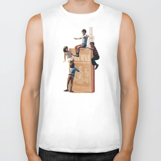 The Cigarette Gang Biker Tank