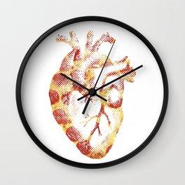 My Heart Beats Pizza Wall Clock