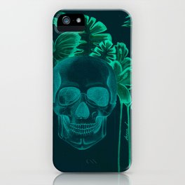 Skull jungle iPhone Case