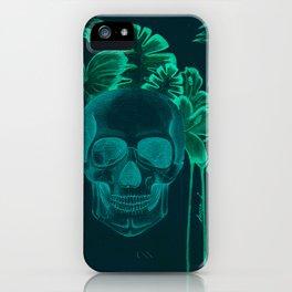 Skull jungle iPhone Case