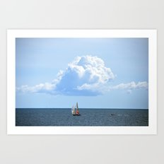 Atlantic Cloud Art Print