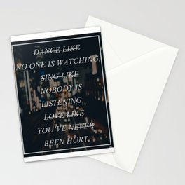 (Un)Motivational Poster Stationery Cards