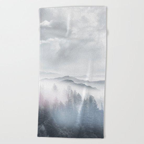 Magic in the Clouds V Beach Towel