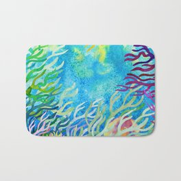 Underwater seaweed Bath Mat