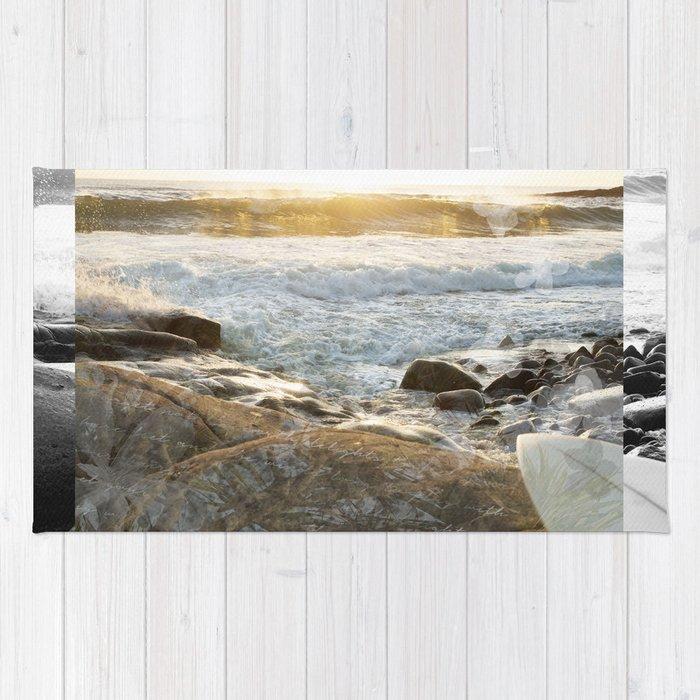 Sunrise Surf Rug