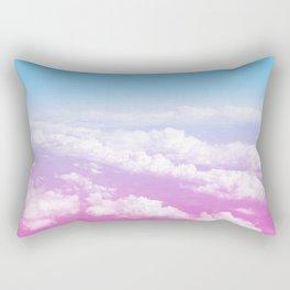 Pink Summer Flight Rectangular Pillow
