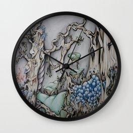 Mystical Woods Wall Clock