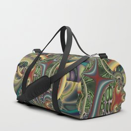 Excitement, modern colorful abstract Duffle Bag