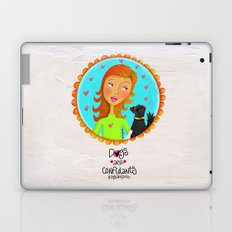 Dogs Are Confidants ❤️ Laptop & iPad Skin
