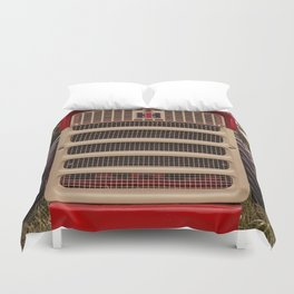 International Grill Farmall Tractor Front  Duvet Cover