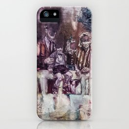 Shifts and Cracks (The Gates of Yesod) iPhone Case