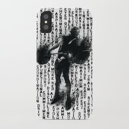 Snatch Girl Power Words iPhone Case