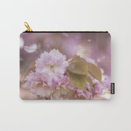 Cherry Blossom LOVE - Sakura - Pink Flower Flowers Carry-All Pouch