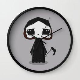 Cute grim reaper Wall Clock
