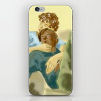les miserables iPhone & iPod Skins featuring Sleepy Les Miserables by Pruoviare