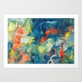 Mindscapes: Did you get hit by a bus or just have a baby? Art Print
