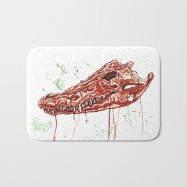 Crocodile Skull Bath Mat
