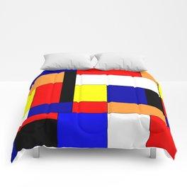 Mondriaan #9 Comforters