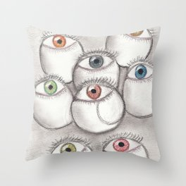 Yes I'm looking at you! Throw Pillow