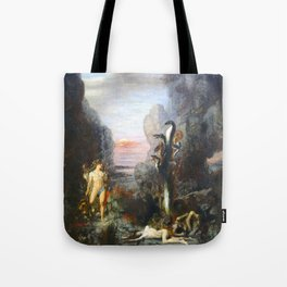 The Lernaean Hydra by Gustave Moreau (1876) Tote Bag