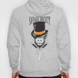 Savage Society: Monocle Monkey Hoody