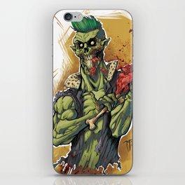 Yummy Zombie iPhone Skin
