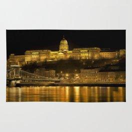 Budapest Golden Night Rug