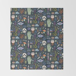 Curiosities Throw Blanket
