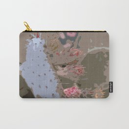 Prickling Pear Abstract Carry-All Pouch