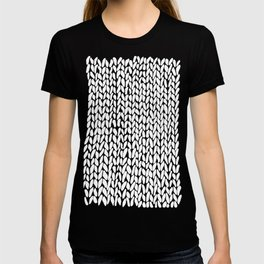 Hand Knitted Loops T-shirt